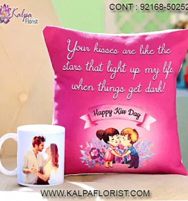 Valentine Day Gift Personalized - Send peronalised gifts on Valentine from Kalpa Florist. Order Valentine customized gifts online for same day delivery.