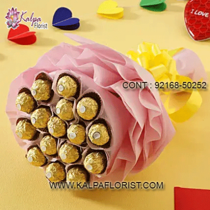 Where To Buy Chocolates : Shop online chocolates delivery in delhi from Kalpa Florist via exploring its widest variety of chocolates.