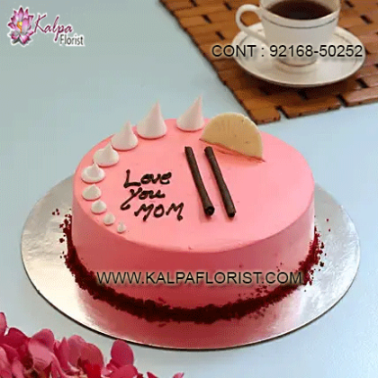 Buy Mother's Day Cakes online at Kalpa Florist with reasonable prices. Send delicious cakes for you Mother with free home delivery to anywhere in India.