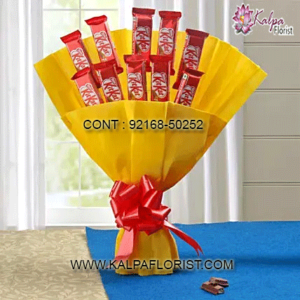 Chocolates: Shop online chocolates delivery in delhi from Kalpa Florist via exploring its widest variety of chocolates. Fore more details call us.