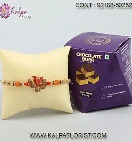 rakhi gifts for brother in usa, rakhi gifts to brother, rakhi gifts for brother, rakhi with gifts to brother, kalpa florist