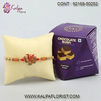 rakhi gifts for brother in usa, rakhi gifts to brother, rakhi gifts for brother, rakhi with gifts to brother, kalpa florist
