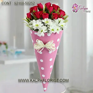 Buy & send beautiful fresh Flower Bouquet for Birthday online on all occasions and same day home delivery.