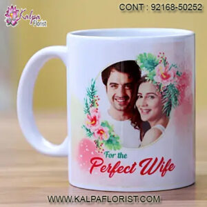 Select Perfect Anniversary Gift For Wife | Anniversary Gift For Couple like Flowers & Cakes, Personalized Mugs etc.