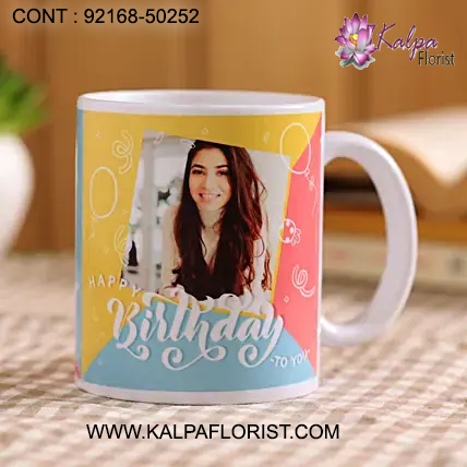 Select Perfect Birthday Gifts Best Friend | Birthday Gifts Ideas For Her like Flowers & Cakes, Personalized Mugs etc.