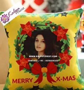Personalised Christmas Wishes Cushion