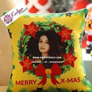 Personalised Christmas Wishes Cushion