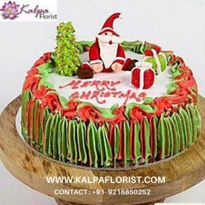 Special Santa Claus Chocolate Cake