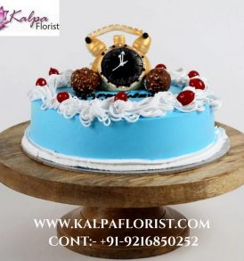 New Year Special Chocolate Cake- 1 Kg