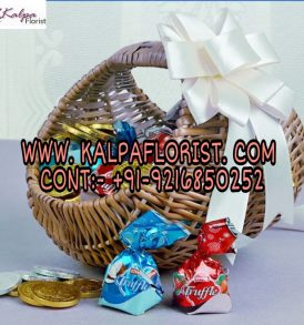 Basket Of Chocolaty Treat