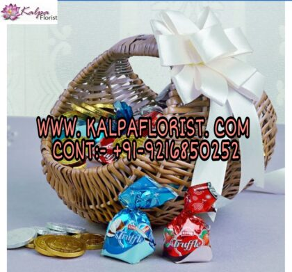Basket Of Chocolaty Treat
