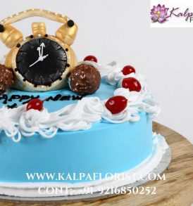 New Year Special Chocolate Cake