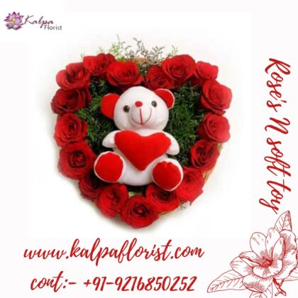 Roses and teddy Gifts Shops Near Me