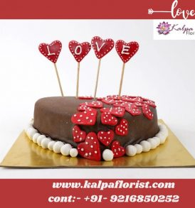 Valentine Cake Online Cake Deliver In Delhi