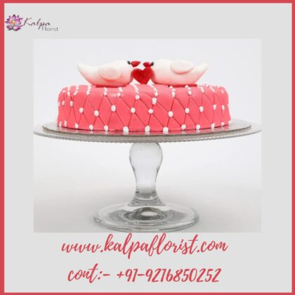Valentine Cake Online Cake Delivery In Mohali