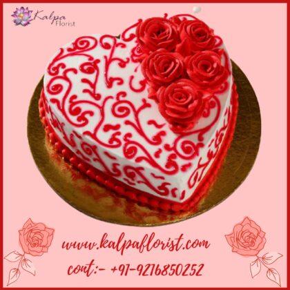 Valentine Cakes UK USA Canada