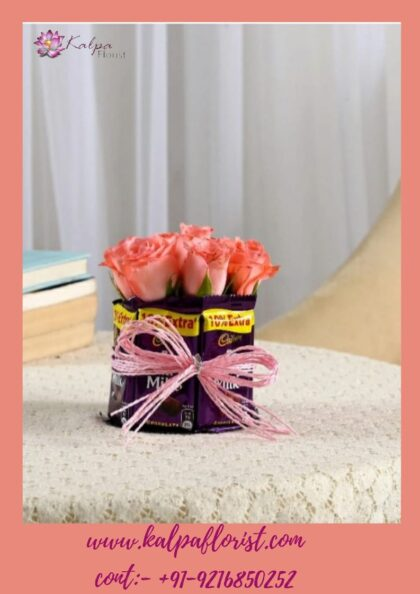 Chocolate And Flower Delivery