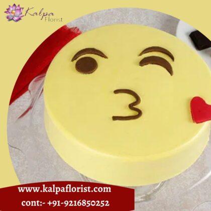 Emoji Cake Online Cake Delivery In Jalandhar
