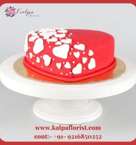 Heart Shape Cake Delivery In Jalandhar