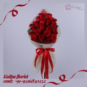Roses Bouquet For Wedding Florist In Jalandhar Punjab