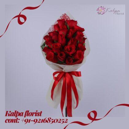 Roses Bouquet For Wedding Florist In Jalandhar Punjab