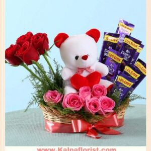 Romantic Flower Online Bouquet Delivery In Delhi