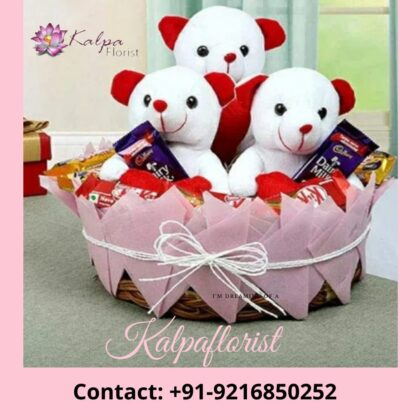 Teddy Bear & Chocolate Gift Basket | Gifts Delivery In India | Kalpa Florist, online gifts delivery in india, online gifts delivery to india, online gifts in india same day delivery, online gifts delivery in bangalore, online gifts delivery in canada, online gifts delivery in hyderabad, online gifts delivery in lucknow, online gifts delivery in bathinda, online gifts delivery in mumbai,, online gifts delivery in ludhiana, online birthday gifts delivery in india, online gifts delivery in varanasi, online gifts delivery in jalandhar, online delivery of gifts in delhi, online delivery gifts for birthday, online gifts delivery in one day, combo gifts, combo gifts for him, rakhi combo gifts for sister, chocolate combo gifts, combo gifts for boyfriend, gifts ungiven combo, valentine combo gifts for her, combo gifts for brother, combo birthday gifts for boyfriend, rakhi combo gifts for brother, birthday combo gifts for girlfriend, diwali combo gifts, combo gifts for girlfriend, combo birthday gifts, best combo gift for boyfriend, combo gifts for couples, combo return gifts, combo gifts online, christmas combo gifts, combo gifts for husband, rakhi combo gifts online, combo gifts for parents, birthday combo gifts for him, birthday combo gifts online, anniversary combo gifts, combo gift pack, rakhi combo gifts, Teddy Bear And Chocolate Gift Basket, gifts delivery in india, gifts to deliver in india, online gifts delivery in india, how to send gifts in india, deliver gifts online india, best same day gift delivery, how to send surprise gifts in india, how to deliver gifts in india, what to gift from india, how to courier a gift in india diwali gifts online delivery in india, ,online gifts delivery in dubai from india, how to deliver gifts online, birthday gifts delivery in india, what to gift when baby is born, online birthday gifts delivery in india, Teddy Bear & Chocolate Gift Basket | Gifts Delivery In India | Kalpa Florist,