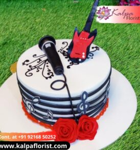 Music Theme Cake Online Cake Order In Delhi