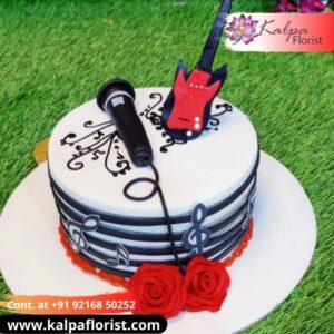 Music Theme Cake Online Cake Order In Delhi