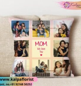 Mothers Day Personalised Picture Cushion Send Gifts To India From USA India