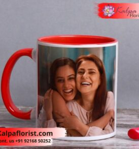 Personalised Lovely Mom Mug | Online Gifts Delivery To India Kalpa Florist Punjab