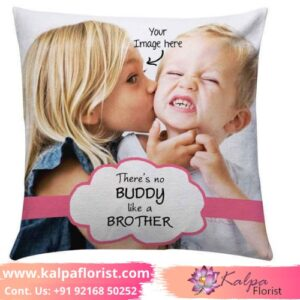 Personalized Cushion With Photo Best Gifts For Brother