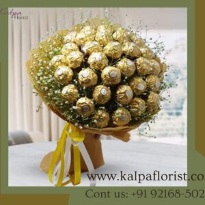 Ferrero Rocher Chocolate Bouquet | Chocolate Delivery For Birthday | Kalpa Florist, chocolate delivery for birthday, chocolate birthday cake for delivery, which chocolate is best for birthday, online chocolate delivery for birthday, send chocolate birthday cake, buy ferrero rocher chocolate bouquet, ferrero rocher chocolate arrangements, ferrero rocher chocolate flower bouquet, the chocolate bouquet company ferrero rocher, Ferrero Rocher Chocolate Bouquet | Chocolate Delivery For Birthday | Kalpa Florist, how to make ferrero rocher chocolate bouquet, ferrero rocher chocolate bouquet singapore, the ferrero rocher chocolate bouquet, ferrero rocher chocolate bouquet online, making a ferrero rocher chocolate bouquet, ferrero rocher chocolate candy bouquet, Order From : France, Spain, Canada, Malaysia, United States, Italy, United Kingdom, Australia, New Zealand, Singapore, Germany, Kuwait, Greece, Russia, Toronto, Melbourne, Brampton, Ontario, Singapore, Spain, New York, Germany, Italy, London, send to india