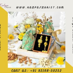 Luxury Floral Hamper for Rakhi | Order Rakhi Online India Punjab