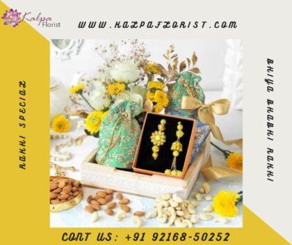 Luxury Floral Hamper for Rakhi   Order Rakhi Online India Punjab