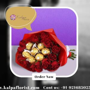 Roses & Ferrero Rocher Bouquet   Gifts Delivery In India   Kalpa Florist, gifts delivery in india, gifts to deliver in india, online gifts delivery in india, deliver gifts online india, how to send gifts in india, best same day gift delivery, how to deliver a gift to someone, birthday gifts delivery in india, online birthday gifts delivery in india, what to gift from india, diwali gifts online delivery in india, how to deliver gifts in india, how to deliver gifts online, how to send surprise gifts in india, how to courier a gift in india, send gifts online same day delivery in india, what can i get delivered same day,personalised gifts online delivery in india,deliver gifts to india from uk, Roses & Ferrero Rocher Bouquet   Gifts Delivery In India   Kalpa Florist